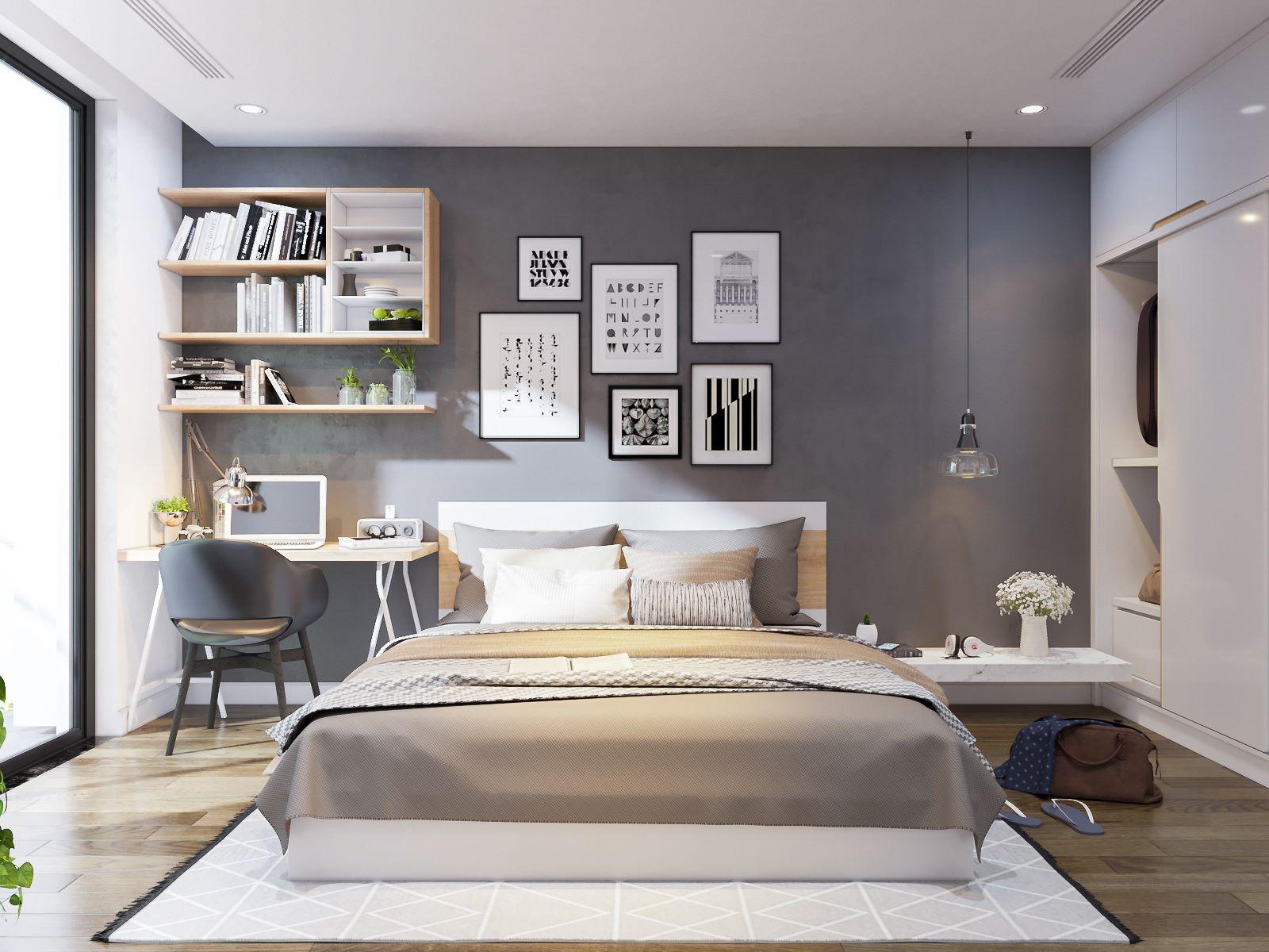 Tư vấn thiết kế căn hộ chung cư diện tích 56m2 với tổng chi phí 100 triệu đồng - Ảnh 12.