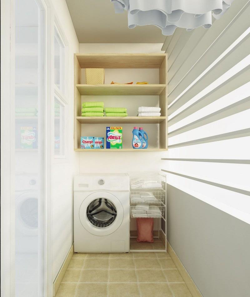 Tư vấn thiết kế căn hộ chung cư diện tích 56m2 với tổng chi phí 100 triệu đồng - Ảnh 13.