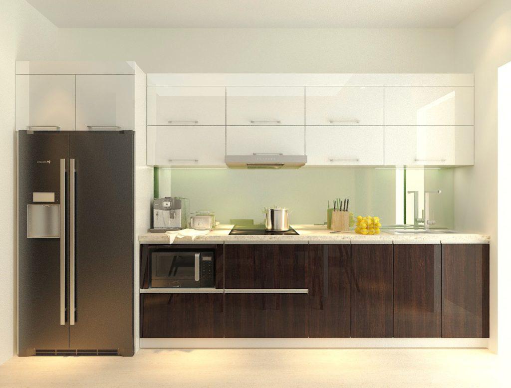 Tư vấn thiết kế căn hộ chung cư diện tích 56m2 với tổng chi phí 100 triệu đồng - Ảnh 7.