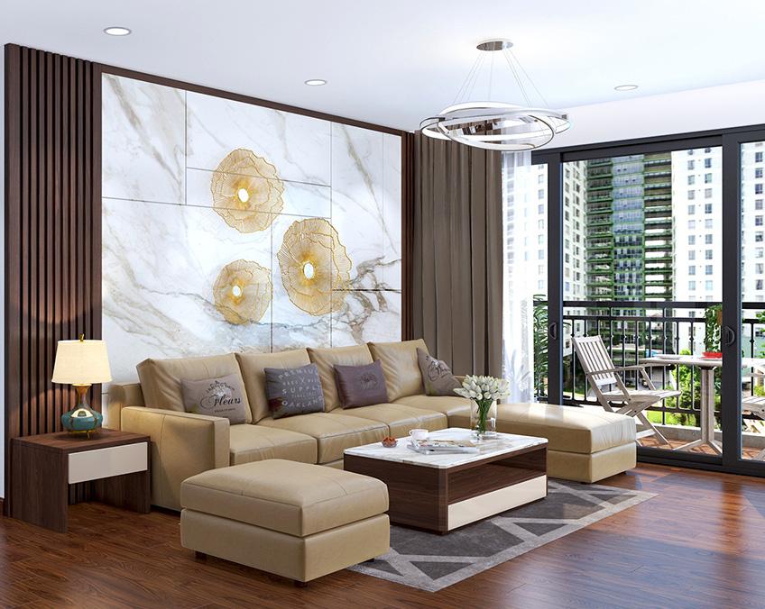 Tư vấn thiết kế căn hộ chung cư diện tích 56m2 với tổng chi phí 100 triệu đồng - Ảnh 8.