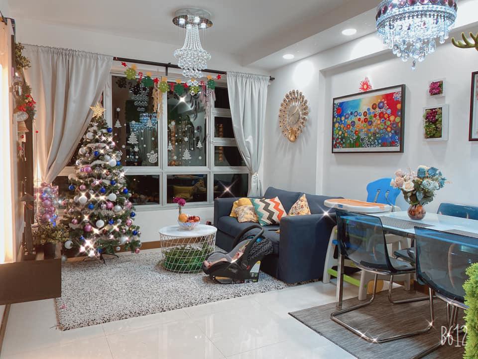 Căn hộ 92m2 góc nào cũng ấm cúng, sạch đẹp nhờ nguyên tắc bài trí gọn gàng của mẹ Việt ở Singapore - Ảnh 4.