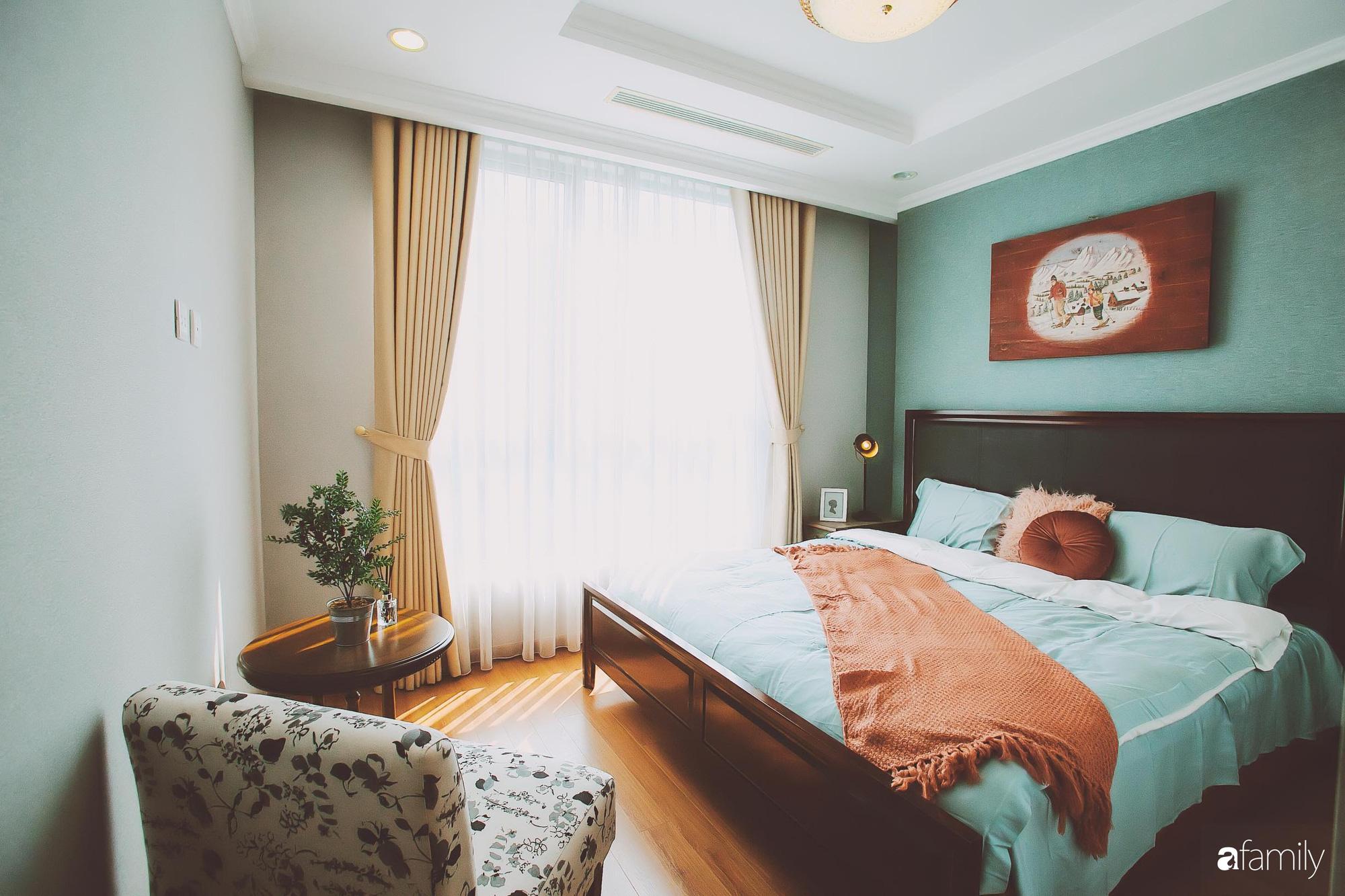 Căn hộ màu xanh ngập tràn nắng ấm sau cải tạo với chi phí 150 triệu đồng ở Hà Nội - Ảnh 13.