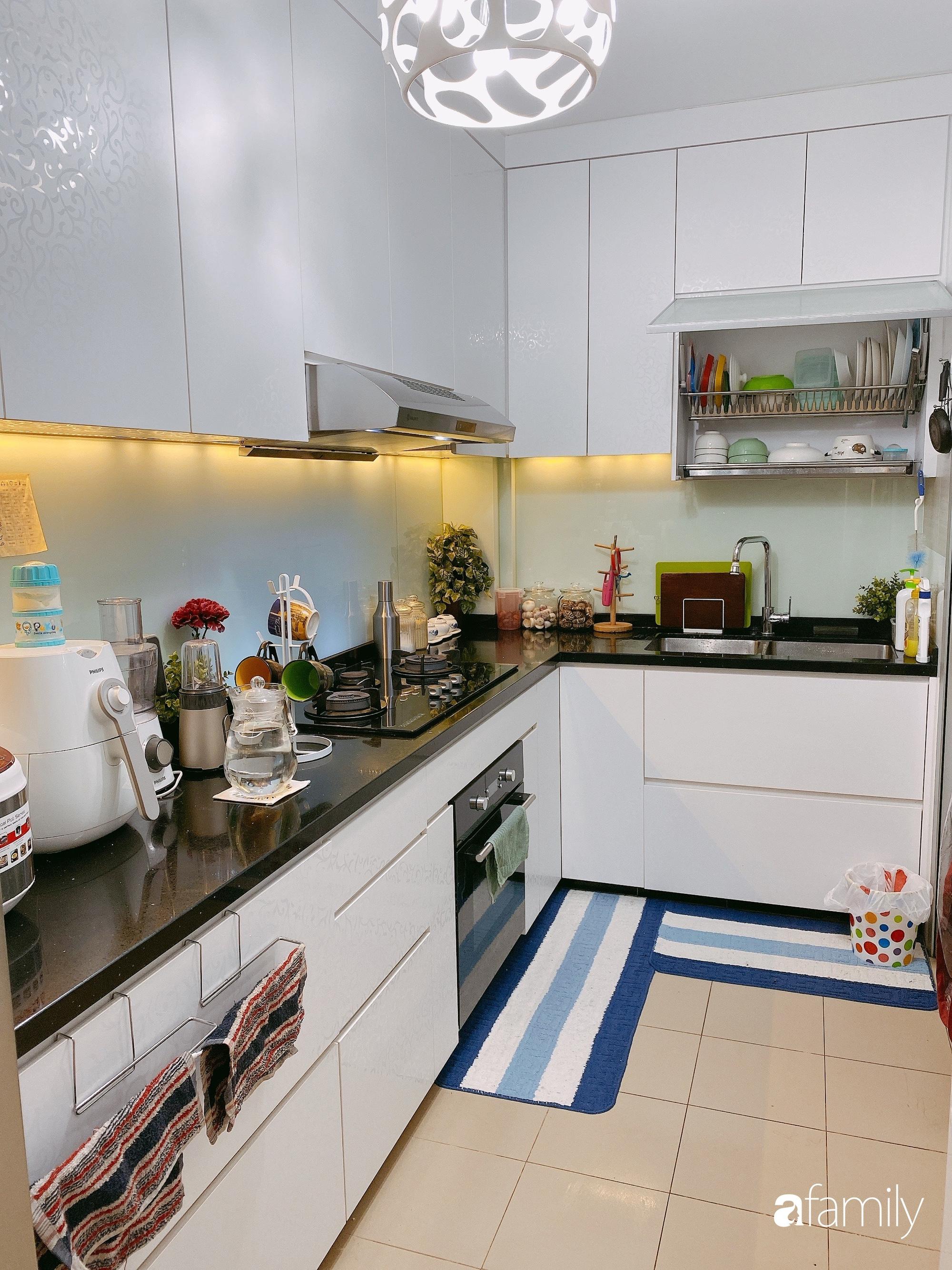 Căn hộ 92m2 góc nào cũng ấm cúng, sạch đẹp nhờ nguyên tắc bài trí gọn gàng của mẹ Việt ở Singapore - Ảnh 8.
