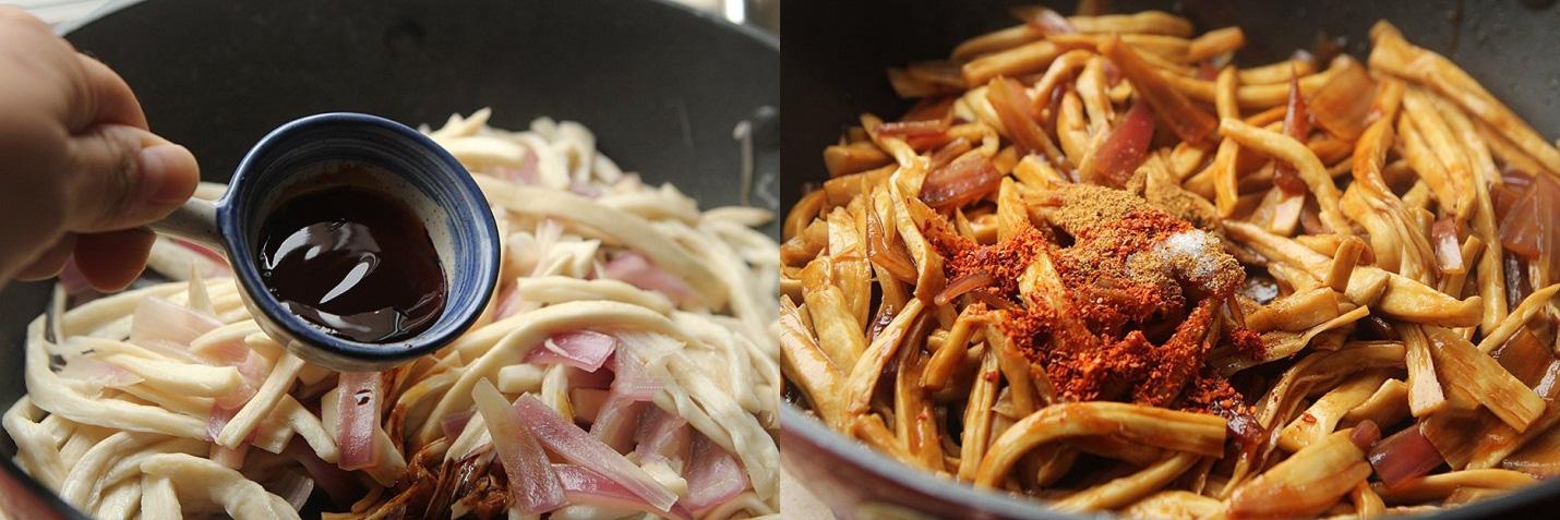 10 phút làm nhanh món nấm xào cay ngon cơm ngày lạnh - Ảnh 3.