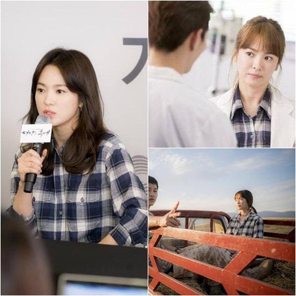 Chiếc áo sơ mi Song Hye Kyo mới mặc có liên quan mật thiết đến Song Joong Ki? - Ảnh 3.