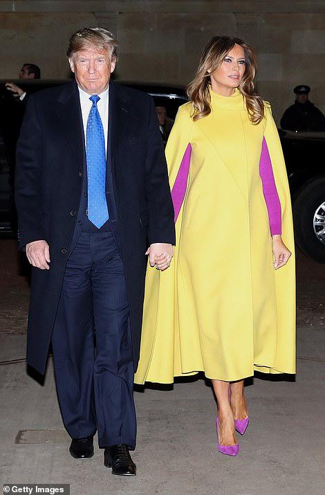 """Diện đồ màu mè, bà Melania Trump """"thua đau"""" trước Công nương Kate dù mặc đồ đắt hơn 5 lần - Ảnh 1."""