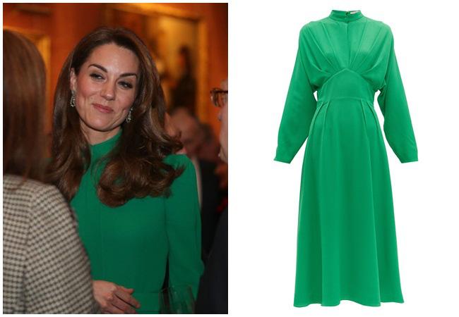 """Diện váy 30 triệu đồng, Công nương Kate """"cân"""" cả Hoàng gia Anh, đọ sắc với Đệ nhất phu nhân Mỹ  - Ảnh 4."""