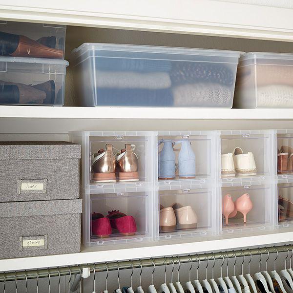8 bước giúp bạn tối đa hóa không gian tủ quần áo bằng cách lưu trữ đồ theo mùa - Ảnh 4.