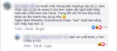 Diva Hồng Kông bị chê hát live tệ hơn Chi Pu, màn rap của Đen Vâu nhận hàng tá gạch đá  - Ảnh 10.