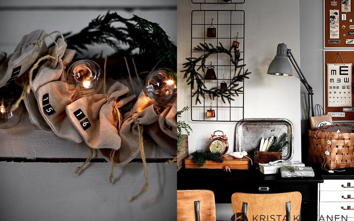 Đón Noel siêu ấm áp với những kiểu trang trí cực đơn giản ai ai cũng có thể học tập