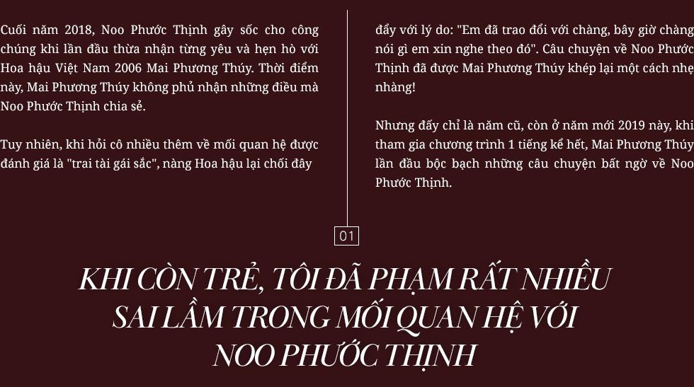 Mai Phương Thúy: Tôi yêu gương mặt Noo Phước Thịnh như cách anh ấy yêu chiều cao của tôi - Ảnh 1.