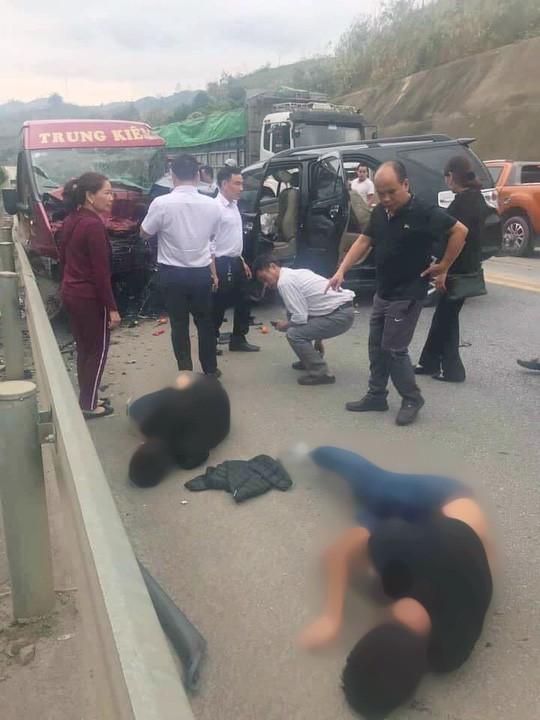 Vụ tai nạn kinh hoàng 12 người thương vong trên cao tốc: Tài xế xe 7 chỗ sử dụng rượu, bia - Ảnh 1.