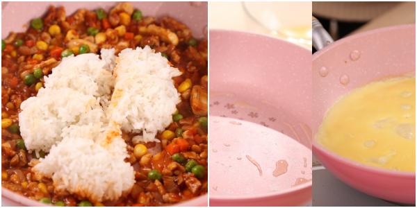 Cơm rang kiểu Nhật: Bí quyết làm cơm rang kiểu Nhật ngon, đẹp mắt - Ảnh 4.