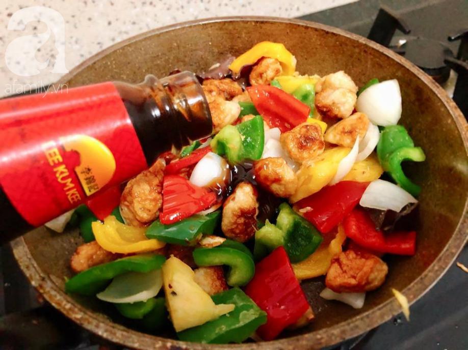 Thêm món xào đầy màu sắc cho bữa tối đủ chất và ngon miệng - Ảnh 3.