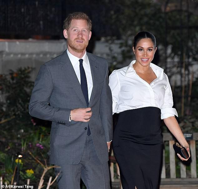 Hoàng tử Harry vô tình tiết lộ sự thật về việc Meghan có mang song thai hay không  - Ảnh 1.