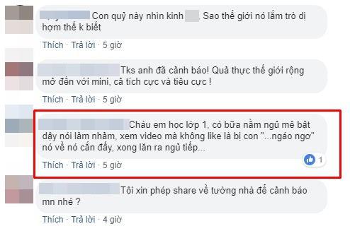 MXH dậy sóng vì thử thách tự sát Momo, các bậc phụ huynh Việt nói gì? - Ảnh 6.