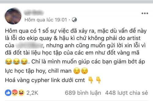 Đốt sách vở của học sinh trường Ams khi quay MV, rapper Việt bị ném đá không thương tiếc - Ảnh 2.