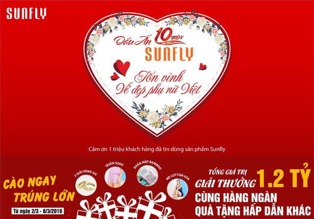 Sunfly – Hành trình 10 năm tôn vinh vẻ đẹp phụ nữ Việt - Ảnh 1.