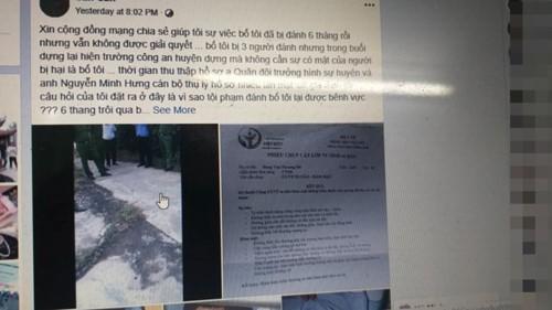 """Hải Phòng: Điều tra cán bộ công an huyện bị tố dọa """"tát vỡ mồm"""" người dân - Ảnh 1."""