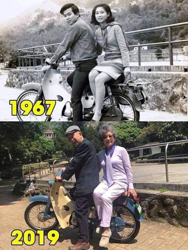 Bức ảnh check in 'ngày ấy - bây giờ' hot nhất MXH: 52 năm một cuộc tình, sự thủy chung khiến ai cũng ngưỡng mộ - Ảnh 1.