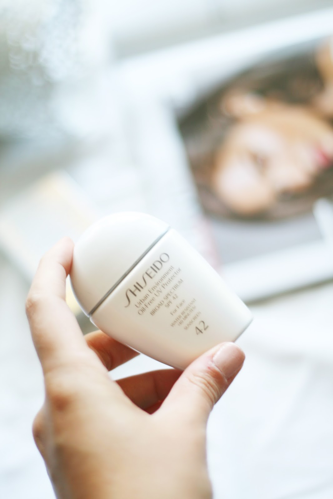 shiseido spf review