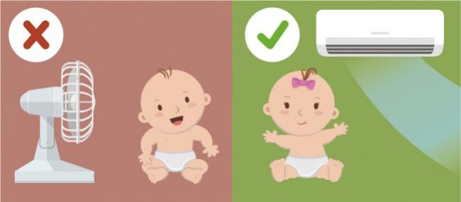 Nếu dự sinh con vào mùa hè sắp tới thì đây là những lưu ý chăm sóc bé sơ sinh mẹ nhất định không được bỏ qua - Ảnh 1.