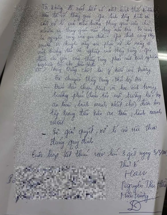 Vụ thầy giáo nhắn tin gạ tình ở Thái Bình: Gia đình nữ sinh không muốn thầy giáo bị kỷ luật - Ảnh 1.
