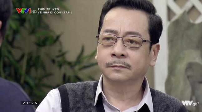 Về nhà đi con tập 5: Hết làm Người phán xử, NSND Hoàng Dũng chuyển sang làm thông gia với Lương Bổng Trung Anh - Ảnh 1.