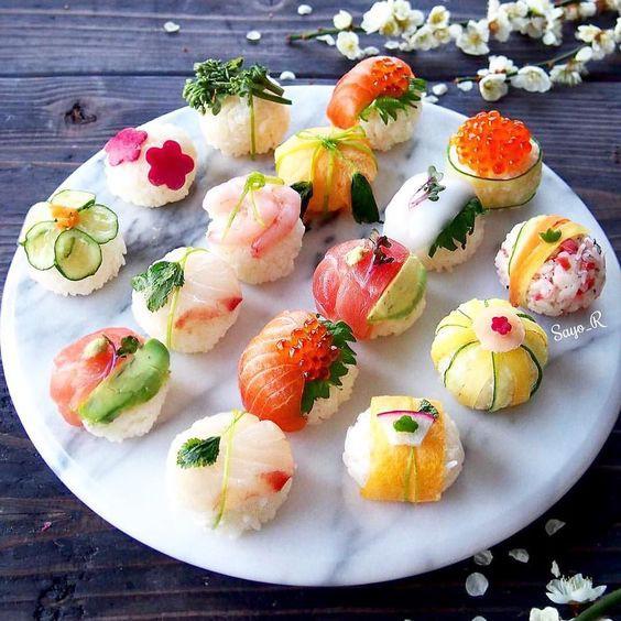 Có những cách làm sushi đẹp đến nao lòng chẳng nỡ ăn, chính bạn cũng có thể làm được - Ảnh 3.
