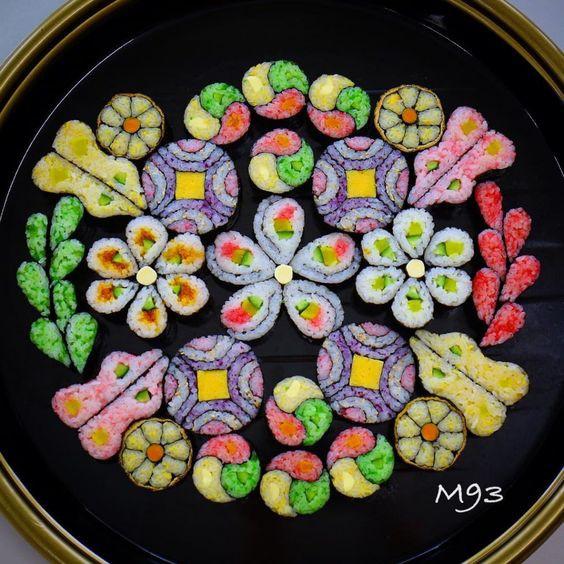 Có những cách làm sushi đẹp đến nao lòng chẳng nỡ ăn, chính bạn cũng có thể làm được - Ảnh 7.