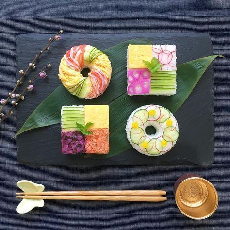 Có những cách làm sushi đẹp đến nao lòng chẳng nỡ ăn, chính bạn cũng có thể làm được - Ảnh 4.