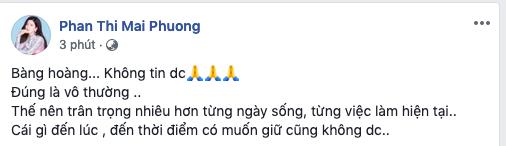 Ca sĩ Phương Thanh, Mai Phương cùng loạt nghệ sĩ Việt bàng hoàng trước tin diễn viên hài Anh Vũ qua đời ở tuổi 47 - Ảnh 3.