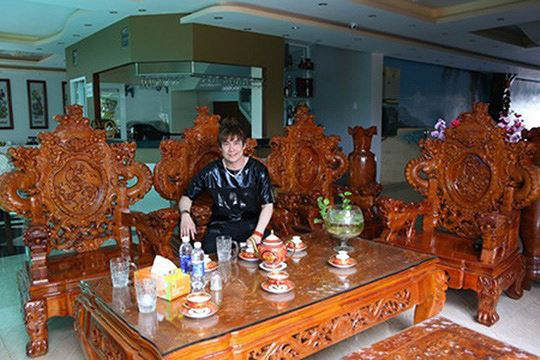 Cận cảnh biệt thự 'khủng' trị giá 200 tỷ của ca sĩ Khánh Phương - Ảnh 6.