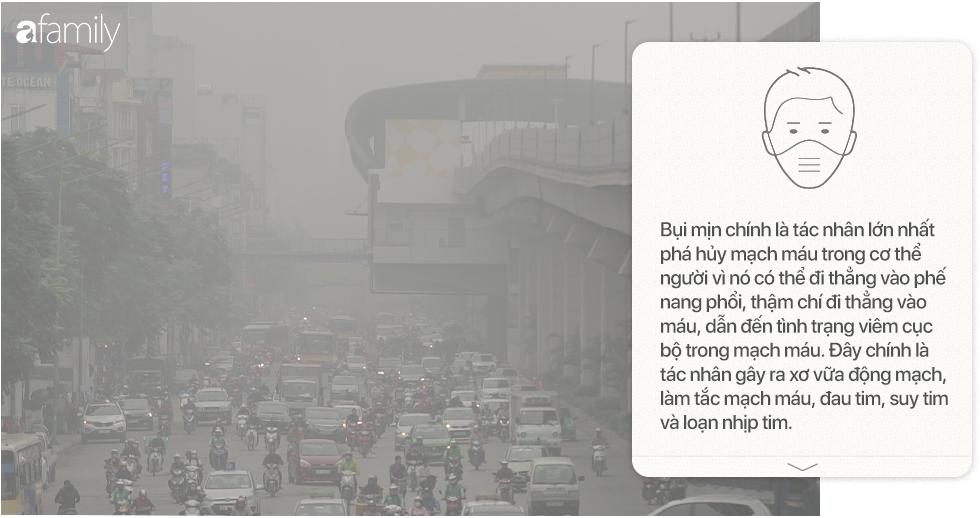 Chất lượng không khí Việt Nam rơi vào vùng cam: Đeo khẩu trang ít tác dụng, trẻ nhỏ là đối tượng bị ảnh hưởng nhất - Ảnh 13.