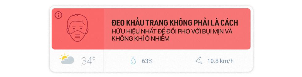 Chất lượng không khí Việt Nam rơi vào vùng cam: Đeo khẩu trang ít tác dụng, trẻ nhỏ là đối tượng bị ảnh hưởng nhất - Ảnh 20.