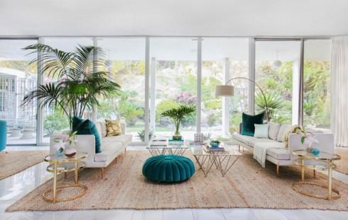 Những phòng khách độc đáo, hấp dẫn trong nhiều không gian khác nhau - Ảnh 1.
