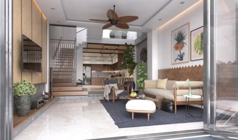 Những phòng khách độc đáo, hấp dẫn trong nhiều không gian khác nhau - Ảnh 11.