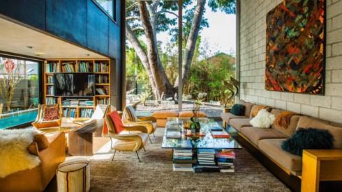 Những phòng khách độc đáo, hấp dẫn trong nhiều không gian khác nhau - Ảnh 2.