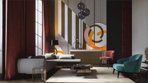 Những phòng khách độc đáo, hấp dẫn trong nhiều không gian khác nhau - Ảnh 3.