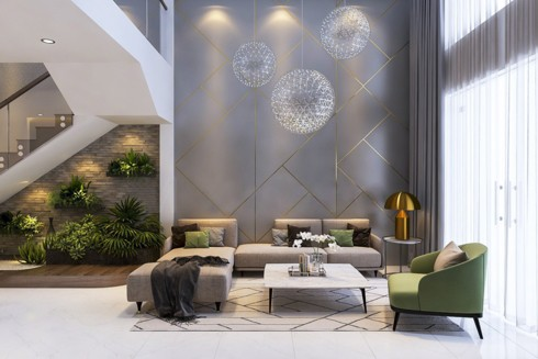Những phòng khách độc đáo, hấp dẫn trong nhiều không gian khác nhau - Ảnh 6.