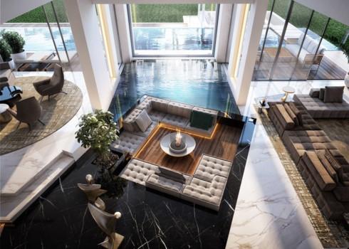 Những phòng khách độc đáo, hấp dẫn trong nhiều không gian khác nhau - Ảnh 7.