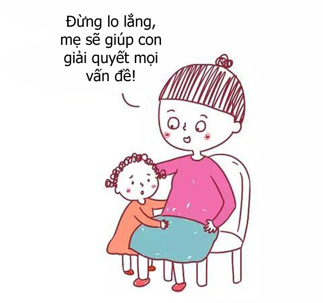 Bộ tranh hài hước về sự khác biệt giữa cách giáo dục con của cha mẹ bình thường và cha mẹ thông minh, ai xem cũng phải gật đầu đồng tình - Ảnh 11.