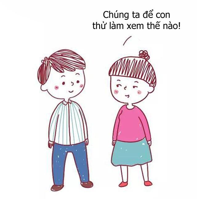 Bộ tranh hài hước về sự khác biệt giữa cách giáo dục con của cha mẹ bình thường và cha mẹ thông minh, ai xem cũng phải gật đầu đồng tình - Ảnh 15.