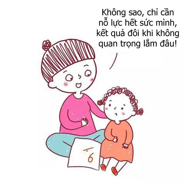 Bộ tranh hài hước về sự khác biệt giữa cách giáo dục con của cha mẹ bình thường và cha mẹ thông minh, ai xem cũng phải gật đầu đồng tình - Ảnh 4.