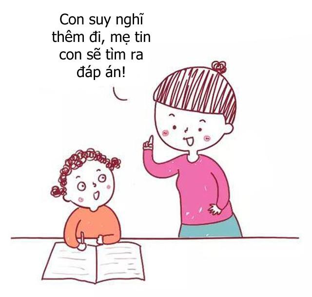 Bộ tranh hài hước về sự khác biệt giữa cách giáo dục con của cha mẹ bình thường và cha mẹ thông minh, ai xem cũng phải gật đầu đồng tình - Ảnh 6.