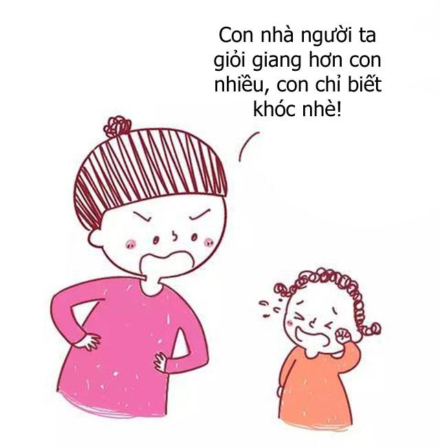 Bộ tranh hài hước về sự khác biệt giữa cách giáo dục con của cha mẹ bình thường và cha mẹ thông minh, ai xem cũng phải gật đầu đồng tình - Ảnh 9.