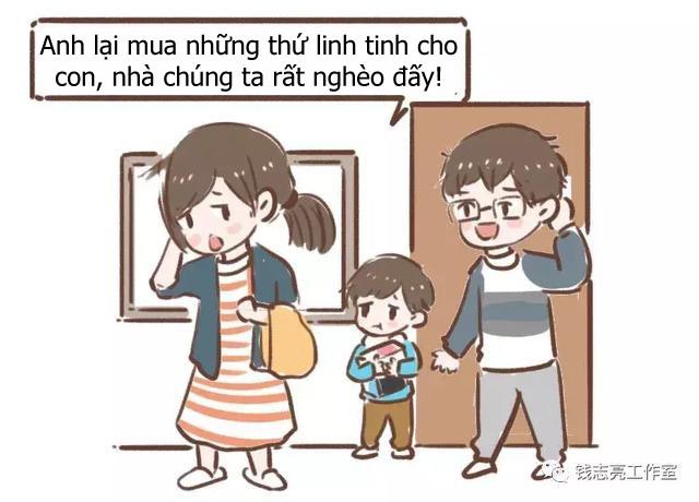 Bộ tranh về những hành động kiêng kị mà bố mẹ tuyệt đối không nên làm trước mặt con nhỏ - Ảnh 3.