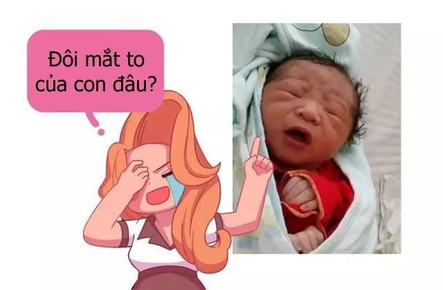 10 trẻ thì 9 trẻ sơ sinh không xinh xắn như mẹ nghĩ lúc mới sinh ra và đây là lời giải thích của bác sĩ - Ảnh 4.