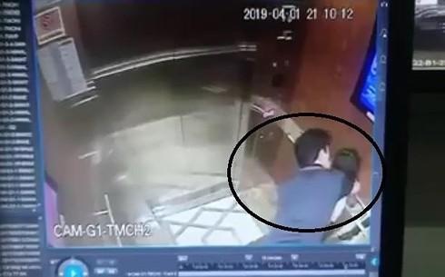 Hành vi sàm sỡ bé gái trong thang máy có thể chịu án tù cao nhất 7 năm - Ảnh 1.