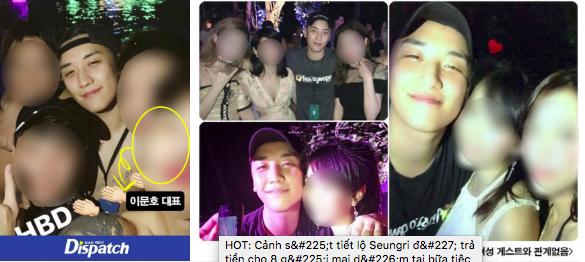 HOT: Cảnh sát tiết lộ Seungri đã trả tiền cho 8 gái mại dâm tại bữa tiệc sinh nhật thác loạn 25 tỉ vào năm 2017 - Ảnh 3.